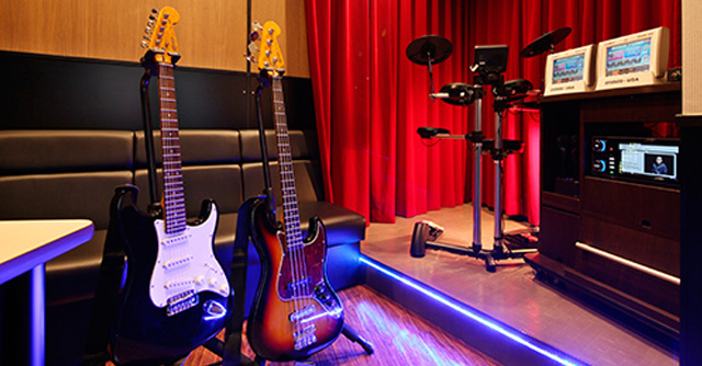 稲毛のギター教室ルームイメージ