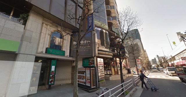 カラオケ コートダジュール銀座コリドー店の外観