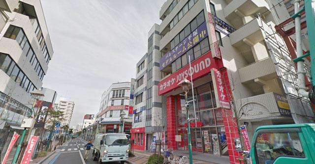 カラオケ ジョイサウンド平塚店の外観
