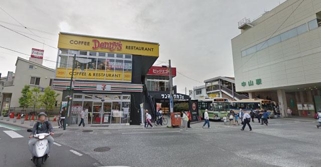 カラオケ ビックエコー中山駅前店の外観