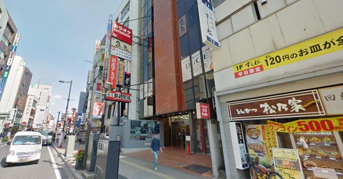 カラオケ ジョイサウンド大宮東口店の外観