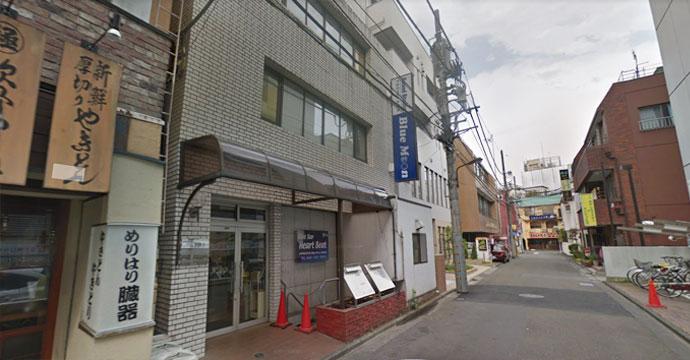 ハートビート立川店外観