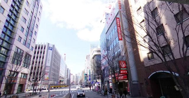 カラオケ ジョイサウンド博多口駅前店の外観