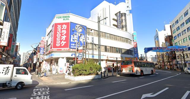 カラオケ ジョイサウンド本厚木駅前店の外観
